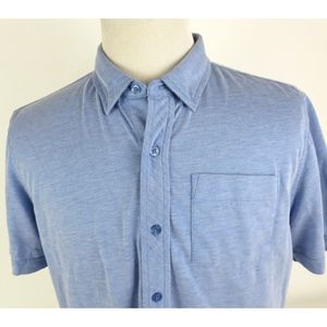 Travis Mathew Large Short Sleeve Button Down Shirt